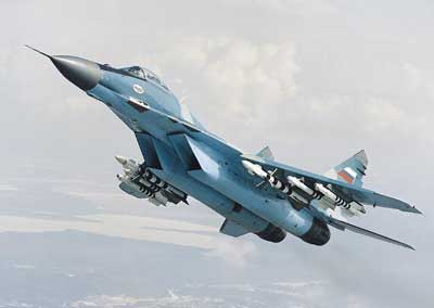 MiG-29 Fulcrum jagerfly