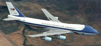 Boeing VC-25A (Air Force 1) fra USAF