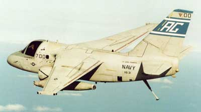 Lockheed S-3 Viking fly fra US Navy